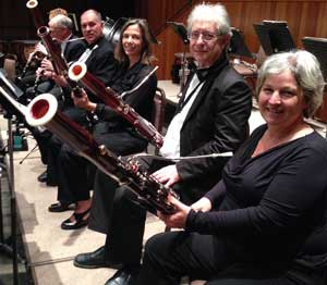 four bassoons