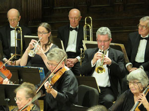 trumpets and trombones